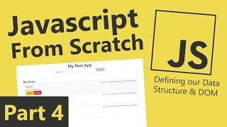 Javascript From Scratch - Part 4 - Event Listeners & Pseudocode