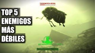 FALLOUT 4 | TOP 5 ENEMIGOS MÁS DÉBILES