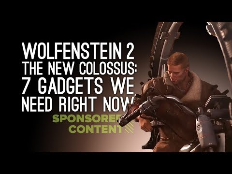 Wolfenstein 2: 7 Outrageous Gadgets We Want Right Now (Sponsored Content)