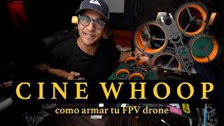 Como armar un cinewhoop Fpv drone #1 | frame
