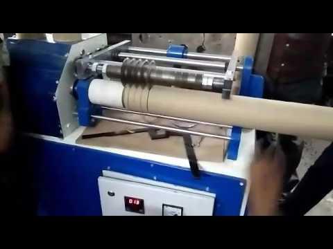 Automatic Paper Core Cutting Machine