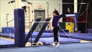 Aly Raisman - Back in Training 2014
