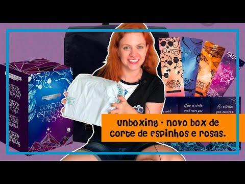 Unboxing do box de Corte de Espinhos e Rosas com brindes | Blog Leitura Virtual por Carol Mariotti