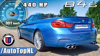 Alpina B4 S BiTurbo ACCELERATION & TOP SPEED 0-301km/h by AutoTopNL