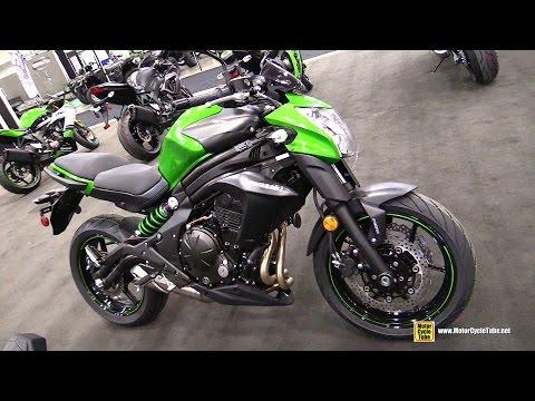 2015 Kawasaki ER-6n - Walkaround - 2014 Toronto Snowmobile & ATV Show