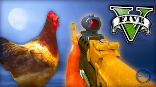 """GTA 5 Funny Moments w/ Ali-A! - """"GLITCHED CHICKEN!"""" - (Grand Theft Auto V PS4 Gameplay)"""