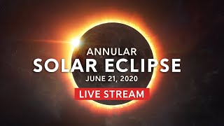 Solar Eclipse 2020 LIVE: Ring of Fire Annular Eclipse