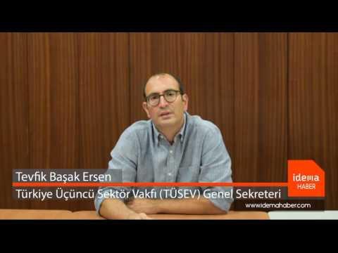 TÜSEV ile Sivil Toplum ve Kamu İşbirliği