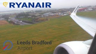FLYING FROM YORKSHIRE'S AIRPORT: Ryanair Boeing 737, Leeds Bradford to Gran Canaria *FULL FLIGHT*