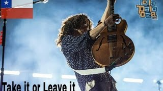 The Strokes-Take It or Leave it live Lollapalooza Chile 2017 HD