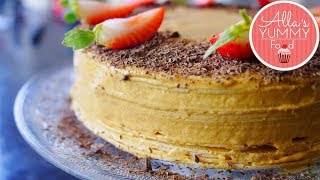 RUSSIAN WAFFLE CAKE RECIPE | EASTER RECIPES