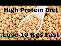 High Protein Weight Loss Diet Plan | Protein Diet for Weight Loss | Lose 10 Kgs Fast