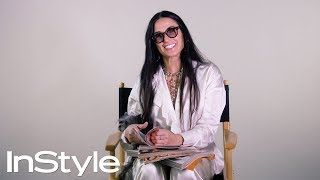 Demi Moore Looks Back at Her Past InStyle Covers | 25th Anniversary | InStyle