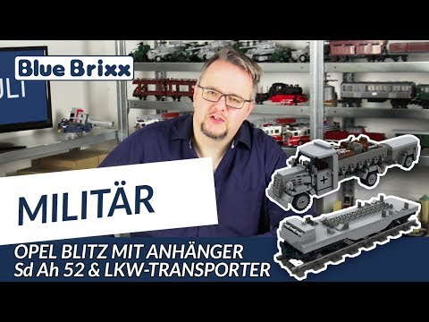 Opel Blitz with tailer Sd Ah 52
