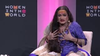 Indian activist Laxmi Narayan Tripathi on the third gender