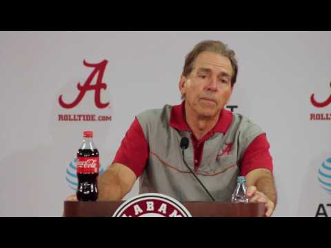 Nick Saban full press conference after day 4 of spring practice