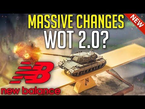 HUGE Changes, New Game Balance = WoT 2.0? | World of Tanks Big Balance Updates