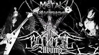Metal Mythos Special: Top 6 BLACK METAL Albums