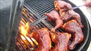 How to make BBQ Chicken - Easy Basic BBQ Chicken