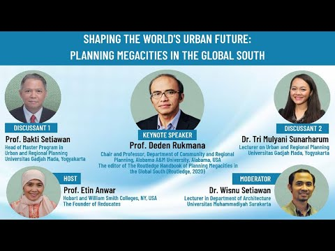 Dialog Inspiratif 16: SHAPING THE WORLD'S URBAN FUTURE: PLANNING MEGACITIES IN THE GLOBAL SOUTH