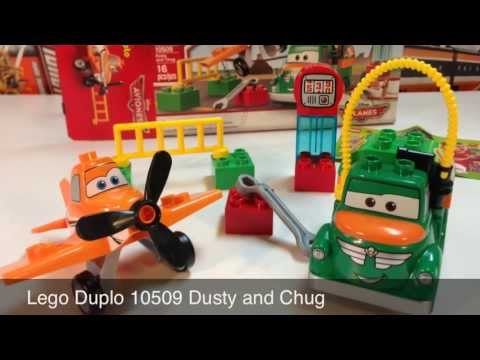 Vidéo LEGO Duplo 10509 : Dusty and Chug