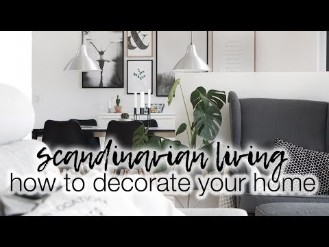 How To Decorate Your Home | Scandinavian Home Decor With Desenio | AD Mp3