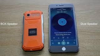 Мобильный телефон VKworld Stone V3S Black от компании Аксессуары для электроники! - видео