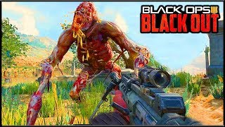 BLACKOUT - ОГРОМНЫЙ ЗОМБИ НА СТРАЖЕ ТОП ЛУТА | Call of Duty Black Ops 4 Blackout