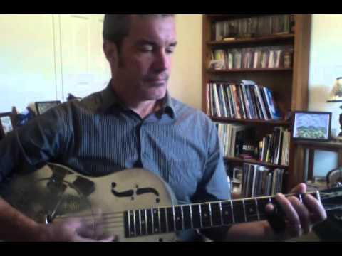 Slide Guitar 101: Chord Shapes in Open D Tuning