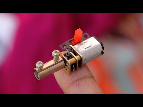 Amazing DIY ideas - DC Motor Life Hacks