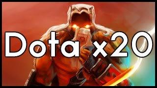Dota 2 Mods | BLOODTHORNE = OP!! | Baumi Plays Power Multiplier X20
