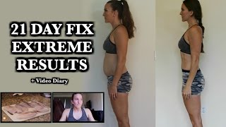 21 Day Fix Extreme Results Video Diary | Fitness