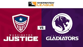 Knockout C | Washington Justice vs Los Angeles Gladiators | May Melee NA | Day 1