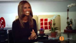 IMAN: Supermodel. Businesswoman. Activist. Refugee.