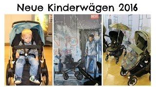 Kinderwagen Neuheiten 2016 I Babyjogger - Bugaboo & Co I MamaBirdie