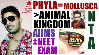 Mollusca_Phyla |Animal Kingdom|Strategy Aiims; Neet;Rahul Anand Biology Tutorial