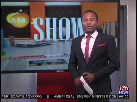 AM Show Intro on JoyNews (7-8-18)