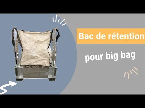 Video Youtube Bac de rétention pour Big-Bag