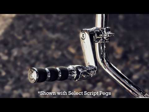 Infinite Highway Pegs in Gloss Black, Pair - Image 1 of 4 - Product Video