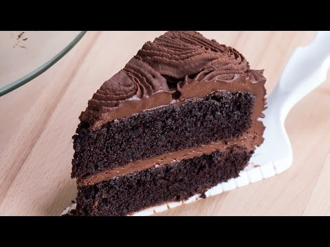 Video Chocolate Rose Cake Recipe