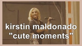 "Кирсти Мальдонадо, kirstin maldonado ""cute moments"""