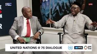 #UN75 Dialogue | Peace and Strong Institutions: Where does Zimbabwe stand?