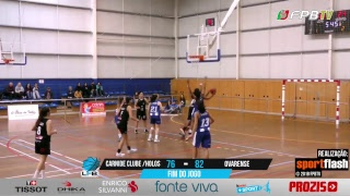 Liga Feminina | Carnide Clube/Holos - Ovarense