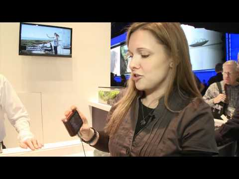 Sony Cybershot DSC-T110 at CES 2011 - Which? first look review