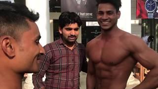 Bodybuilders Goes in Underwear ft. the hungama films