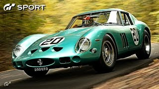 GT SPORT - Ferrari 250 GTO REVIEW