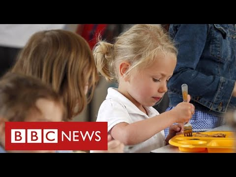 Growing anger over government refusal to fund meals for vulnerable children - BBC News
