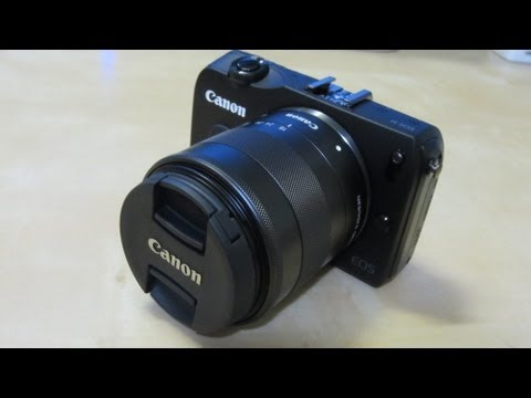 Unboxing: Canon EOS M w/EF-M 18-55mm IS STM Lens