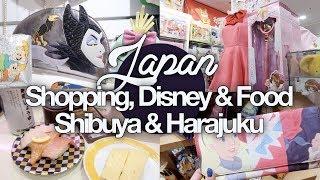 Shopping, Disney & Food in Shibuya & Harajuku! Japan Summer 2017