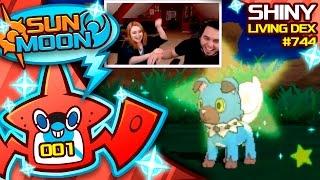 Rockruff  - (Pokémon) - MY WIFES FIRST LIVE SHINY! SHINY ROCKRUFF! Pokemon Sun and Moon Shiny!